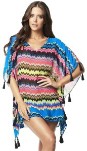PilyQ PilyQ Clara Wave Tassel Swim Cover Up