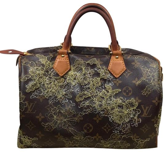 Preload https://img-static.tradesy.com/item/23784954/louis-vuitton-speedy-dentelle-and-wallet-brown-gold-monogram-leather-vacheta-leather-shoulder-bag-0-1-540-540.jpg