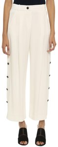 Maiyet Wide Leg Pants Off White