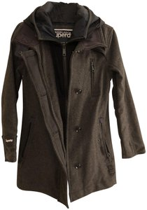 Super Dry Warm Thick Winter Hooded Pea Coat