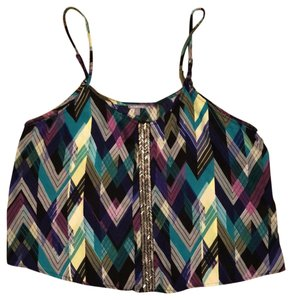 Charlotte Russe Top multicolored