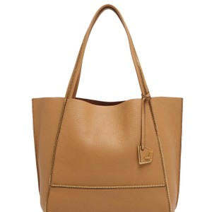Botkier Tote in Camel with gold accents