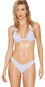 Minimale Animale Nasty Gal Swimsuit Lady Fashion Presley Ribbed Bikini Bottom M Top S