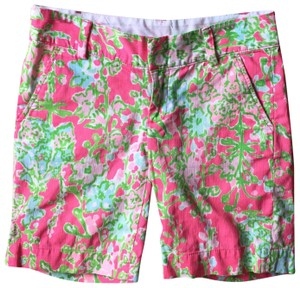 Lilly Pulitzer Bermuda Shorts pink, green, blue