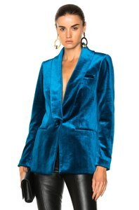 self-portrait Blue Blazer