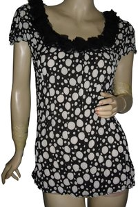 Sunny Leigh Top black, white