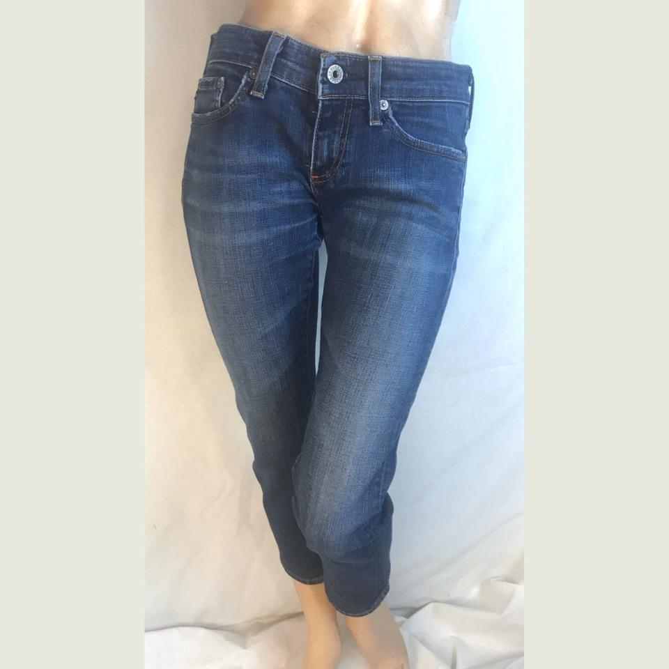 AG Adriano Goldschmied Dark Rinse The Tomboy Skinny Jeans Size 0 (XS, 25)  67% off retail