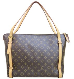 Louis Vuitton Lv Monogram Tuileries Canvas Shoulder Bag