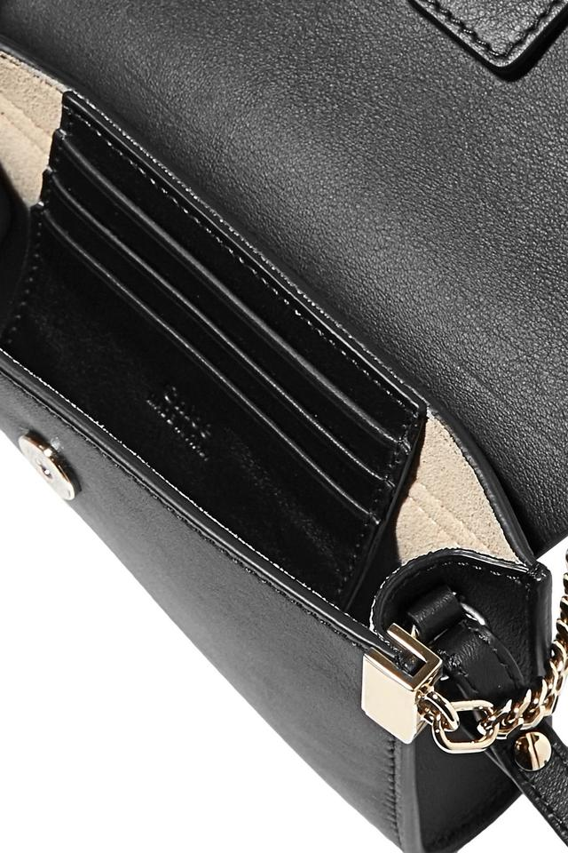 Body Cross Chloé Faye Leather Bag Mini Black ASU4p8q