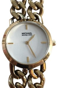 MICHAEL Michael Kors Michael Michael Kors Leather Chain Watch