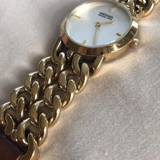 MICHAEL Michael Kors Michael Michael Kors Leather Chain Watch Image 3