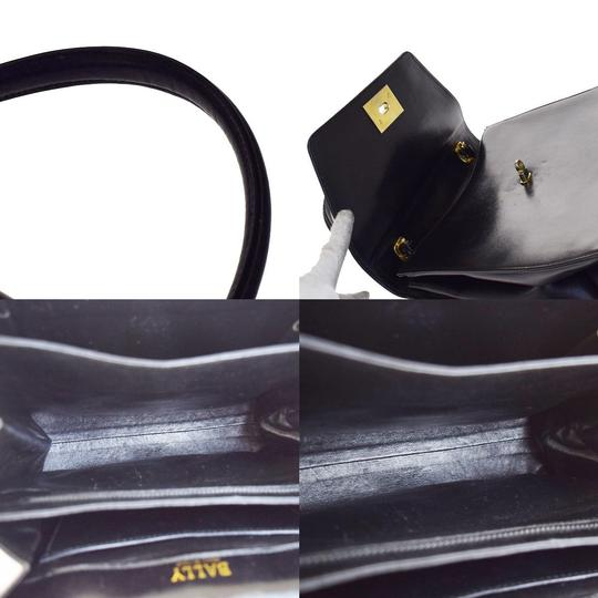 Bally Made In Italy Tote in Black Image 6