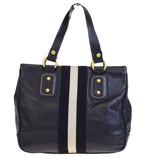 Bally Made In Italy Tote in Black Image 2