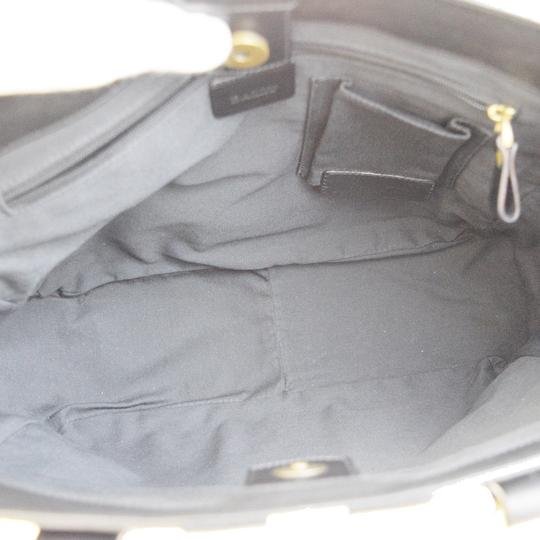 Bally Made In Italy Tote in Black Image 7