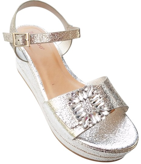 Bamboo Silver Wedges Image 0