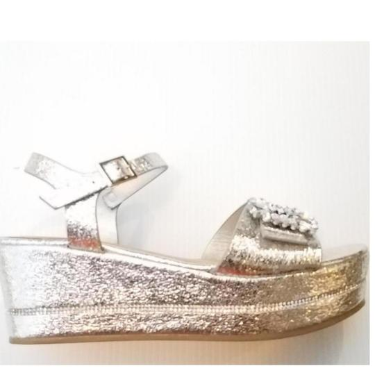 Bamboo Silver Wedges Image 2