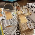 Bamboo Silver Wedges Image 6