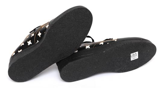 Marni Creepers Lace-up Oxford Designer Black, White, Yellow Flats Image 9