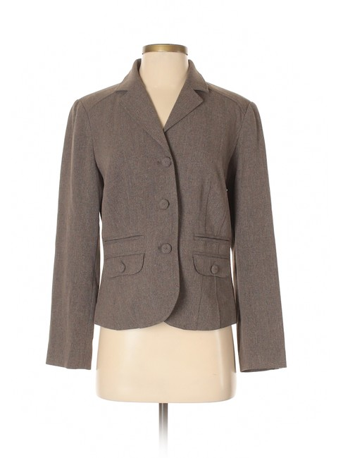 Item - Tan with Subtle Shimmery Hints Blazer Size 4 (S)