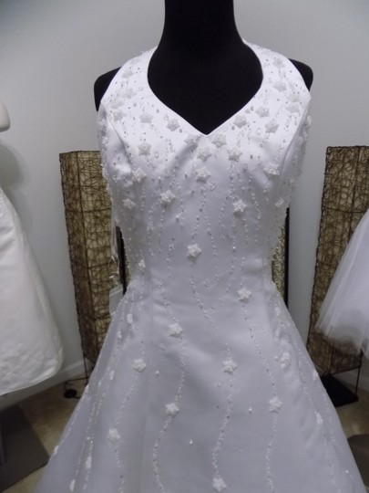 Alfred Angelo White 1826 Traditional Wedding Dress Size 8 (M) Image 1