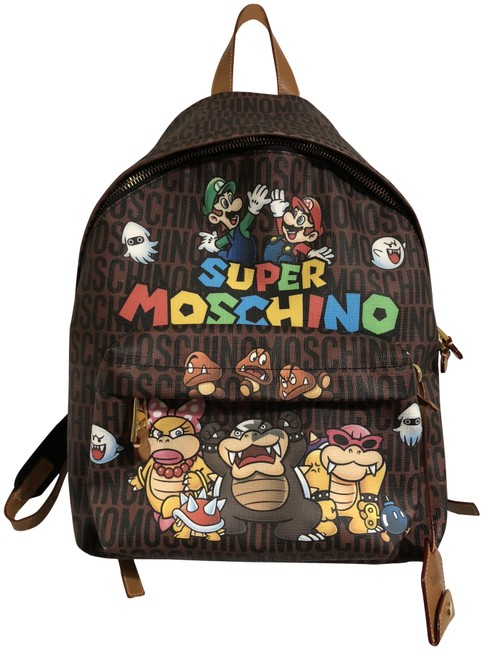 Item - Sold Out Super Mario Brown Pvc Backpack