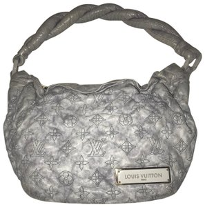 Louis Vuitton Limited Edition Leather Hobo Bag