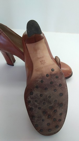Antonio Melani Brown Pumps Image 4