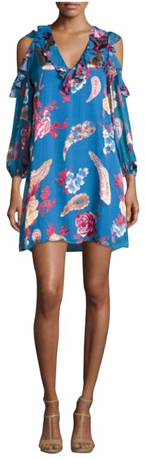 Preload https://img-static.tradesy.com/item/23787652/alice-olivia-lapismulti-cold-shoulder-floral-print-ruffled-party-short-cocktail-dress-size-2-xs-0-3-650-650.jpg