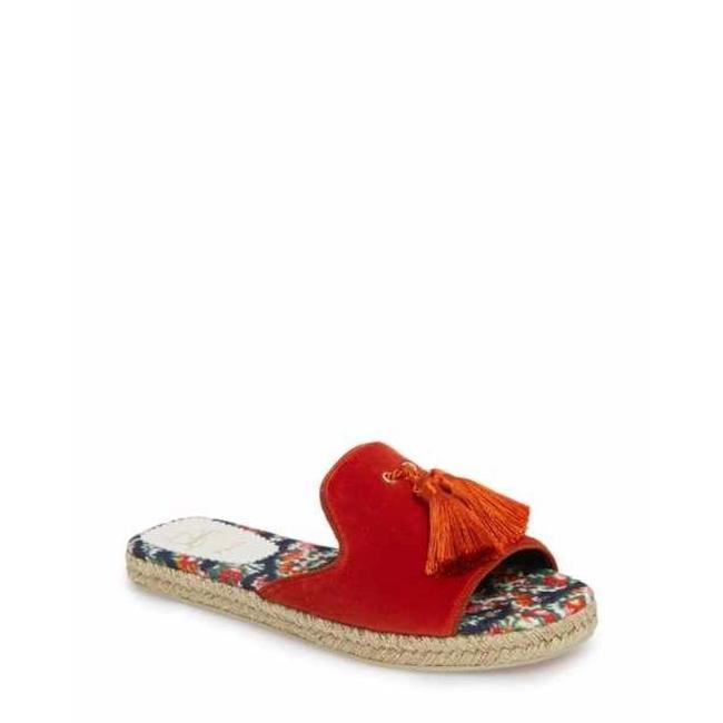 Item - Orange Pacha Velvet Slides Sandals Espadrilles Flats Size EU 38 (Approx. US 8) Regular (M, B)
