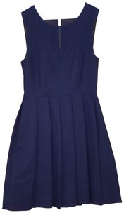 Halston Navy Dress