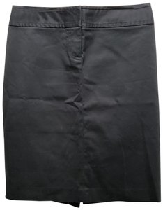 J.Crew Cotton Pencil Dryclean Only Skirt Black