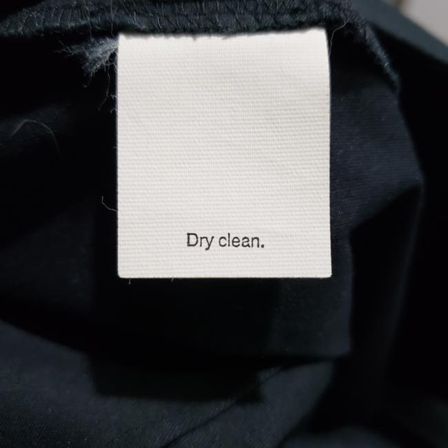 J.Crew Cotton Pencil Dryclean Only Skirt Black Image 4
