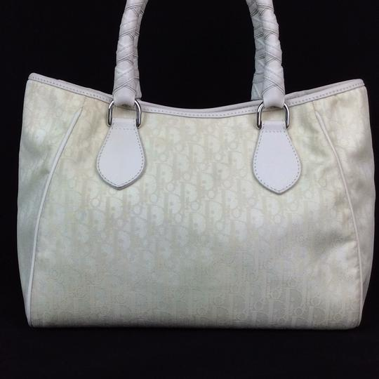 Dior Satchel in ivory Image 4