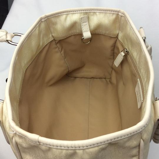 Dior Satchel in ivory Image 9