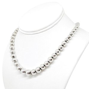Tiffany & Co. Tiffany & Co. Sterling Graduated Bead Necklace