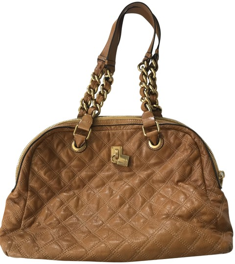 Preload https://img-static.tradesy.com/item/23788029/marc-jacobs-lacquered-quilted-satchel-camel-lambskin-leather-shoulder-bag-0-1-540-540.jpg