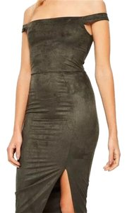 olive Maxi Dress by Missguided
