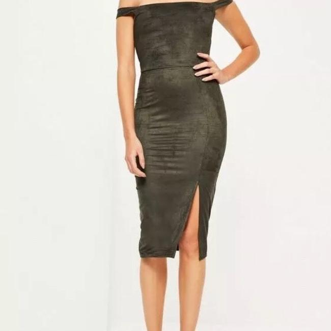 olive Maxi Dress by Missguided Image 1