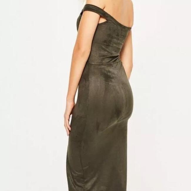 olive Maxi Dress by Missguided Image 2