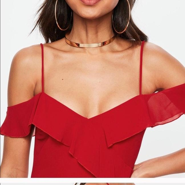 Missguided short dress red on Tradesy Image 2