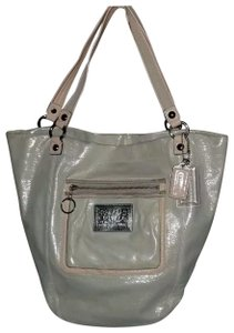 Coach Rare Shimmer Tote in Champagne
