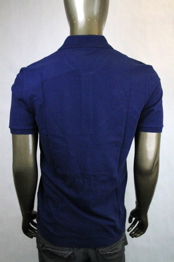 Gucci Navy New Men's Slim Fit Embroidered Horse Polo Top 3xl 338567 4564 Shirt Image 3