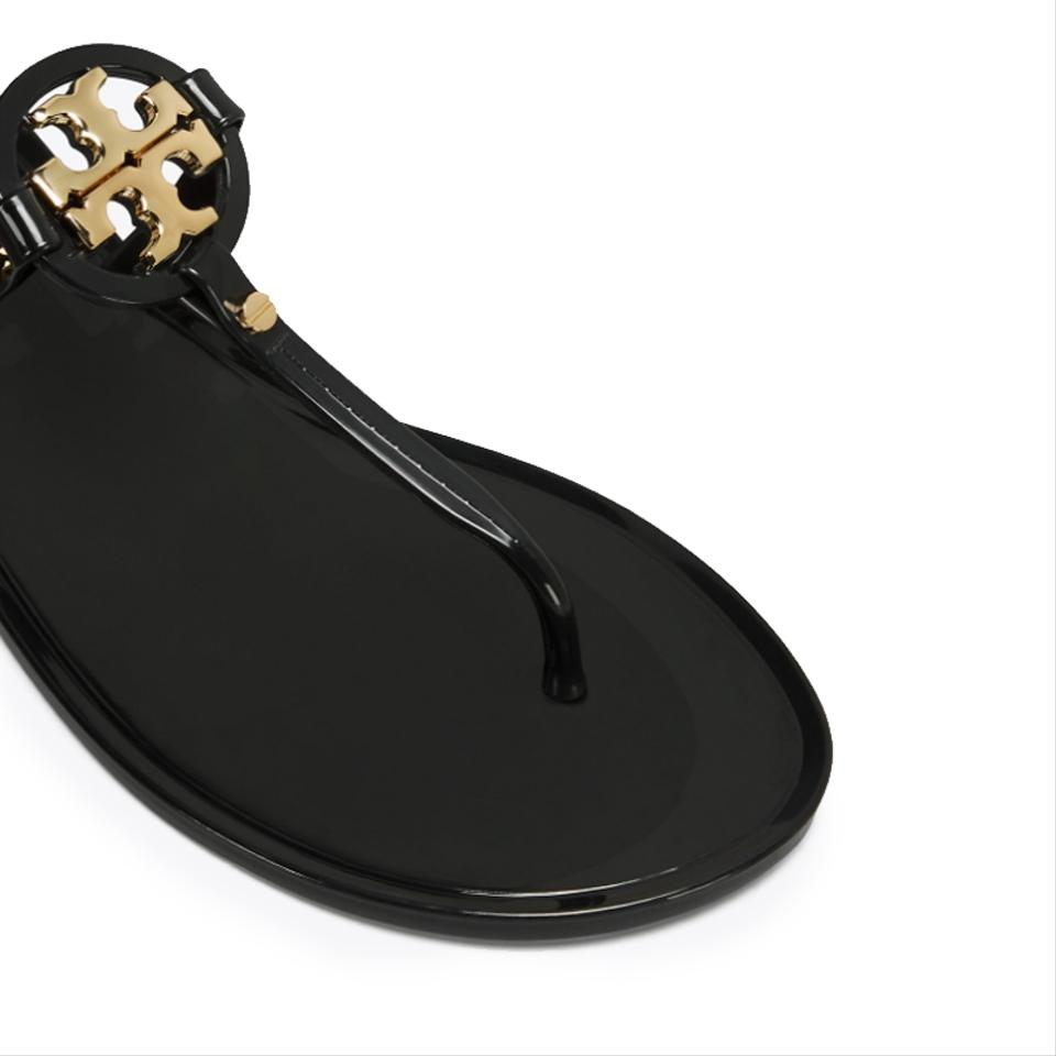 Jelly Miller Tory Sandals Burch Mini Black qUxw7zY
