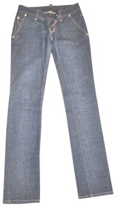 DSquared Straight Leg Jeans-Dark Rinse