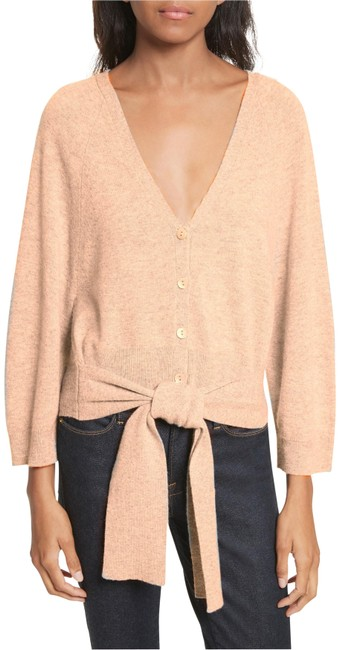 Preload https://img-static.tradesy.com/item/23788431/autumn-cashmere-butterscotch-tie-front-cardigan-size-4-s-0-2-650-650.jpg