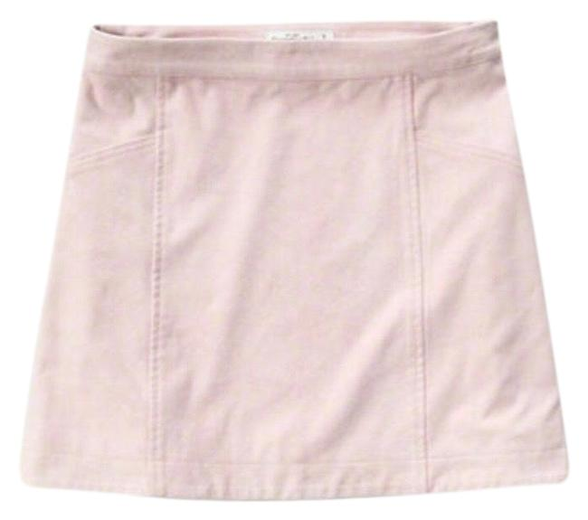 Item - Light Pink Suede Skirt Size 2 (XS, 26)