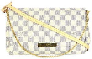 Louis Vuitton Damier Azur Canvas Cross Body Bag