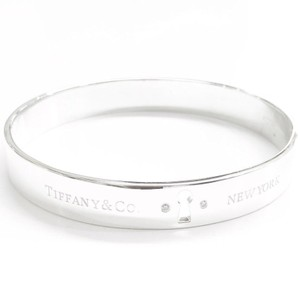 Tiffany & Co. Tiffany & Co. Diamond Keyhole Bangle