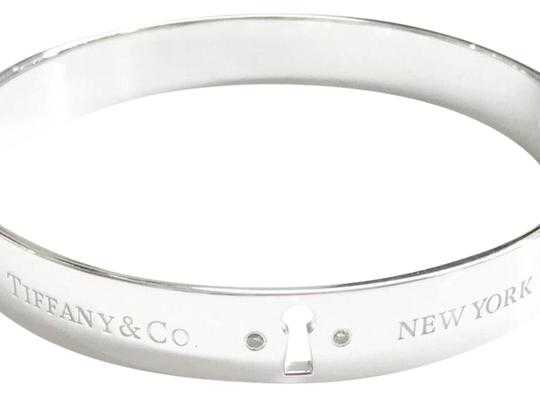 Tiffany & Co. Tiffany & Co. Diamond Keyhole Bangle Image 1