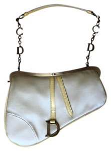 Dior Wristlet in yellow